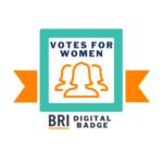 Votes for Women Badge Logo