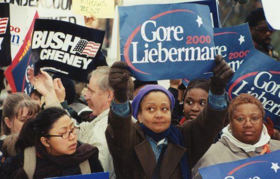 Bush Cheney Gore Lieberman