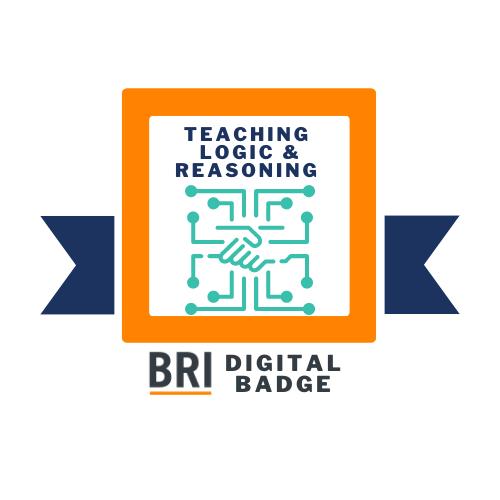 Teaching Logic and Reasoning Badge Logo