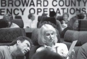 Election Workers Check Ballots in Broward Florida
