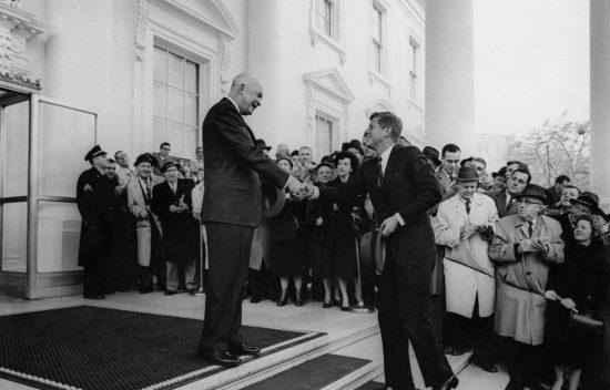 Meeting Between President Dwight D Eisenhower and President-Elect John F. Kennedy