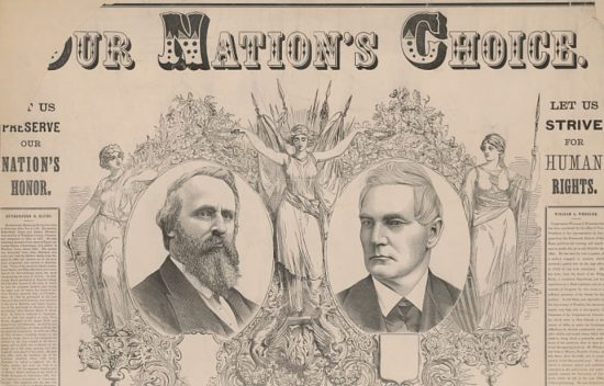 Rutherford B Hayes Election of 1876 Our Nation's Choice