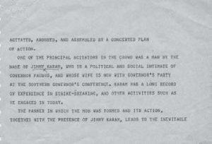 Telegram From Little Rock Mayor Mann to President Eisenhower September 23 1957 2